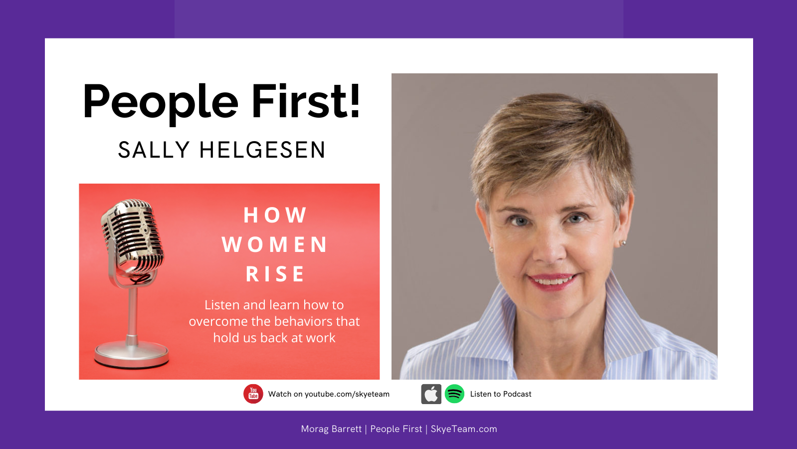 PeopleFirst! with Sally Helgesen